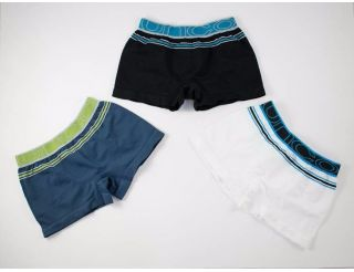 Pack de boxers color marino,negro y blanco