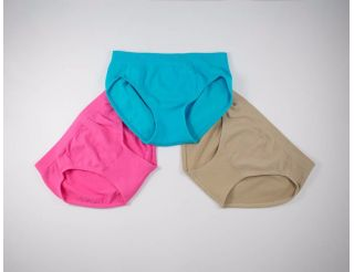 Pack braguitas rosa,azul y marron