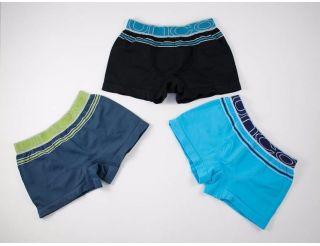Pack de boxers color marino,negro y azul